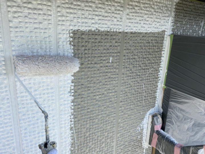 2階外壁中塗り