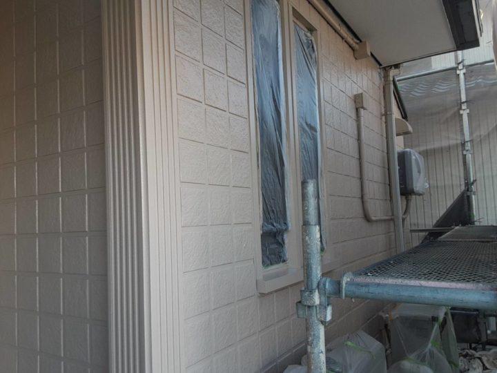 外壁中塗り 完成✨