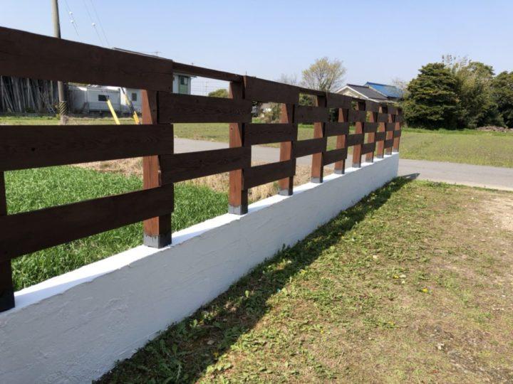 外塀木部 ✨完成✨