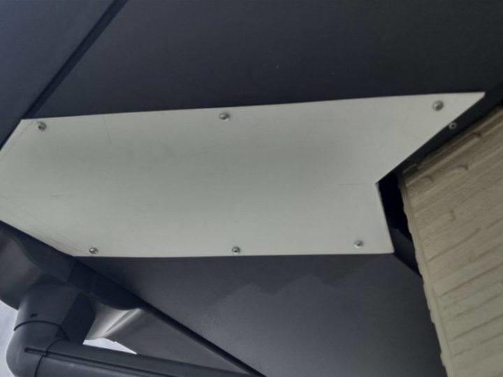 軒天 板金補修完成✨