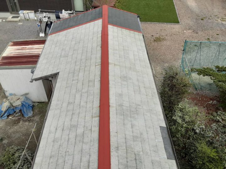 横屋屋根塗装 ✨下塗り完成✨