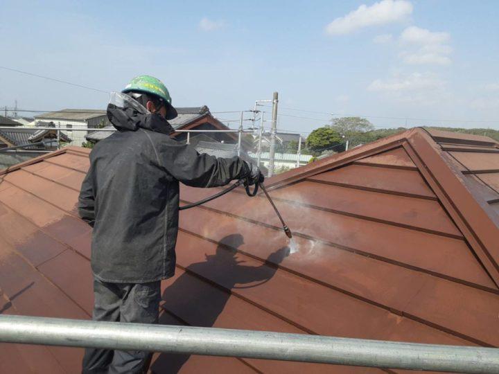 洗浄 母屋屋根