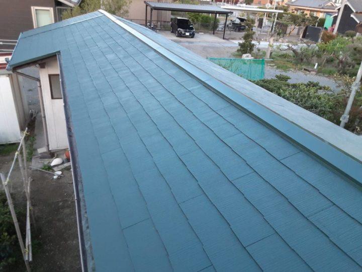 横屋屋根塗装 ✨上塗り完成✨