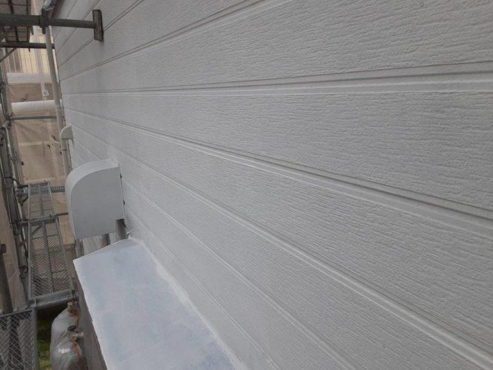 外壁 下塗り完成