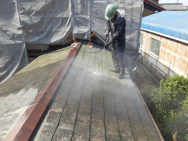 洗浄 横屋屋根
