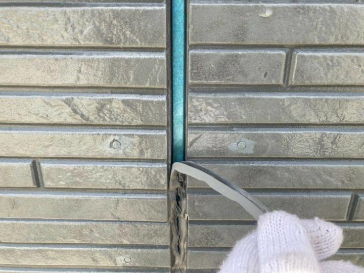外壁目地シーリング改修①