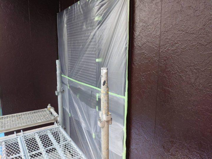1F外壁塗装 上塗り ✨完成✨