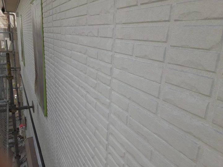 外壁塗装 下塗り完成✨